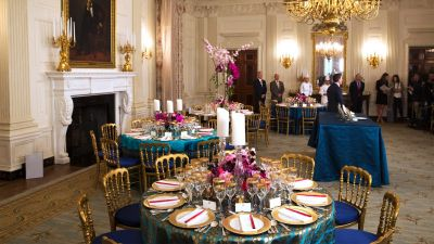 Behind the Scenes at the Japan State Dinner