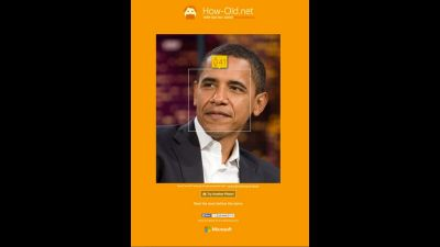 Microsoft's How Old App: Politics Edition