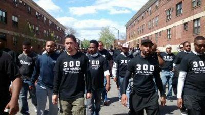 300 Men March Is an Organization Uplifting Baltimore