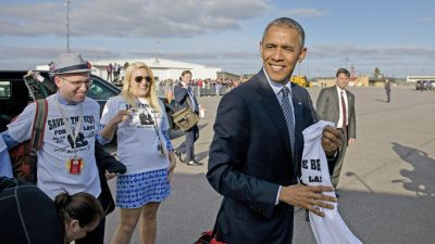 Obama's Visit to South Dakota Is Girl's Dream Come True