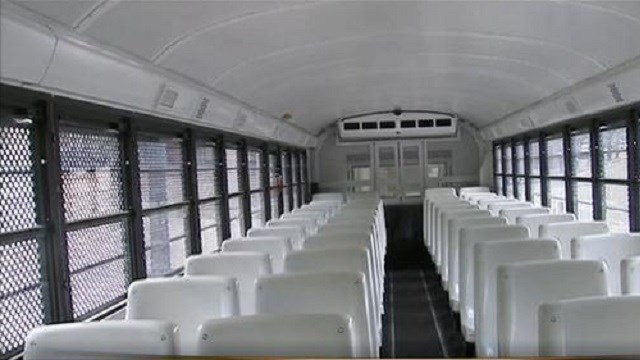 New APD transport bus equipped with cameras