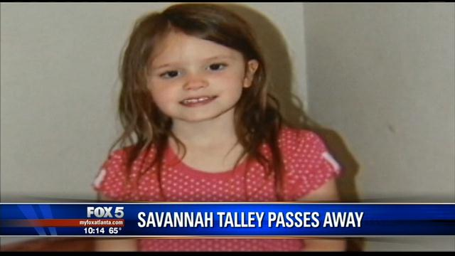 Savannah Talley passes away