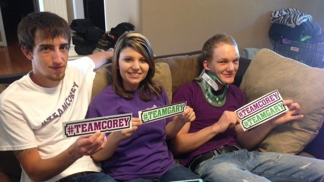 Community helps victims of drunk driver
