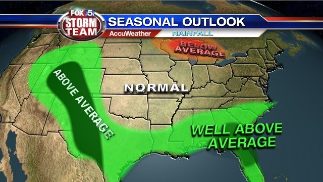 Seasonal Outlook: Warm, Wet, and Muggy