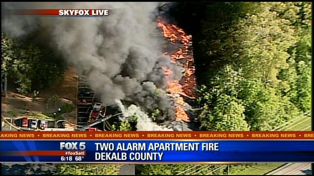 Cause of DeKalb apartment fire still unknown