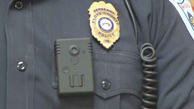 Floyd County Police Department gets body cameras
