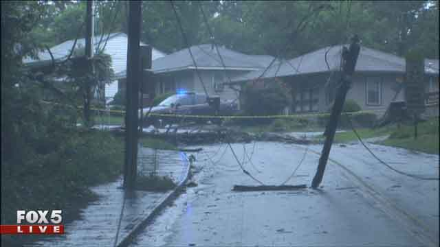 Flooding, damage reported after Tuesday's storms