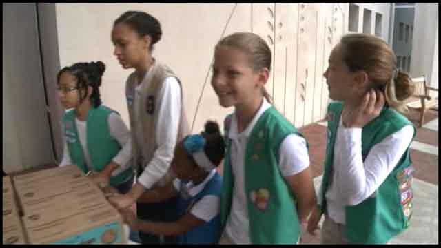 Girl Scouts help celebrate Children's Healthcare of Atlanta's 100th anniversary