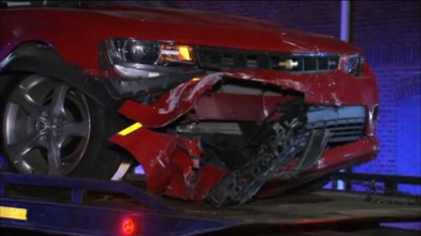 Children hurt in street racing crash
