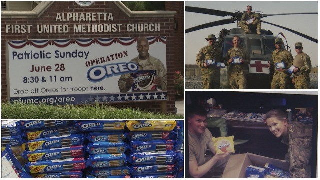 Operation Oreo: a taste of home for our troops