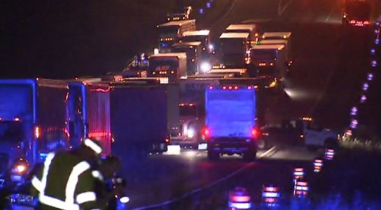 Deadly crash shuts down I-75 northbound lanes