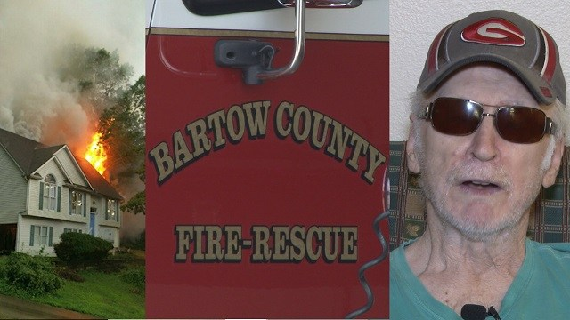 Community helps veteran after house fire