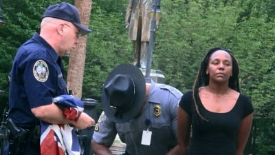 Bree Newsome Speaks Out After Taking Down Confederate Flag