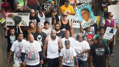 Michael Brown's Fathe 'Still Grieving' One Year After Death