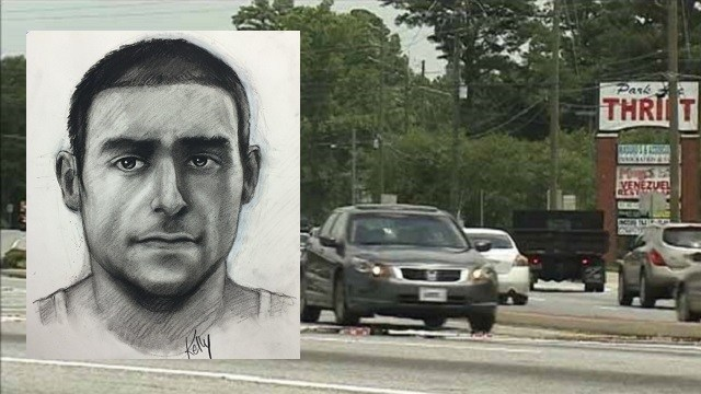 Sketch released in Gwinnett County sexual assault case