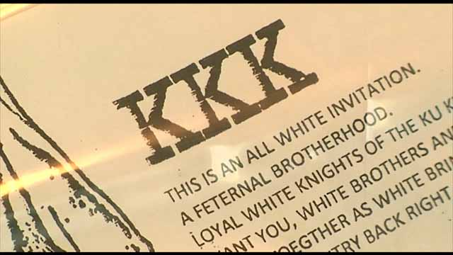 Covington residents find KKK flyers