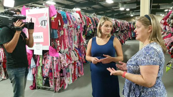 Massive kids consignment sale takes over Gwinnett Co. Fairgrounds