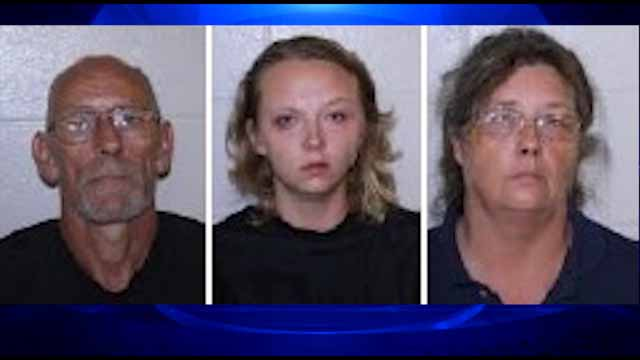 Three accused of denying children food