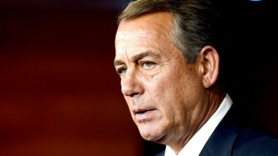GOP Lawmakers: Speaker Boehner to Resign at End of October