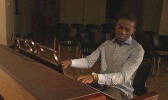 An old piano and a lost kid make life changing music