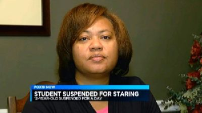 12-Year-Old Boy Gets Suspended for Staring at White Girl