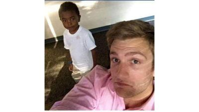 White Man Fired After Mocking Black Child in Selfie