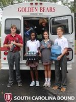 Holy Innocents' Episcopal School collects water for flood victims