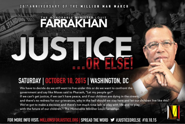 Farrakhan's 'Justice or Else!' movement coming to Atlanta