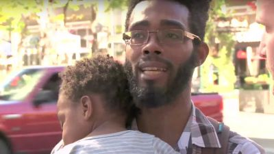 Homeless Single Dad Receives $34K in Donations