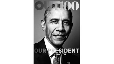Obama Becomes First President to Cover an LGBT Publication