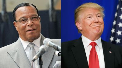 Louis Farrakhan Praises Trump for the Worst Possible Reason