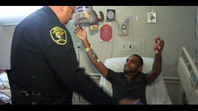 Pulse Victim Reunited With Officer Who Saved His Life