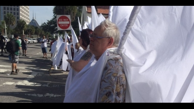 Anti-LGBT Protesters at Funerals of Orlando Victims