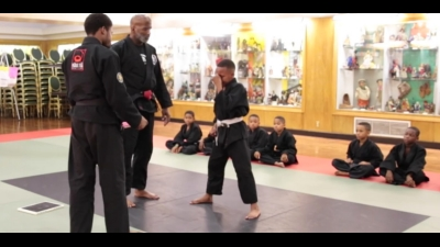 Martial Arts Instructor Teaches How to Deal With Frustration