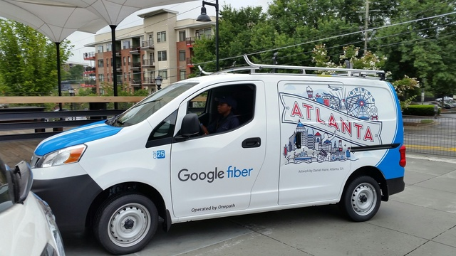 Google Fiber hosts announcement event at Ponce City Market
