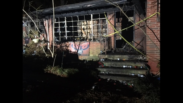 Woman rushed to the hospital after fire at DeKalb Co. home