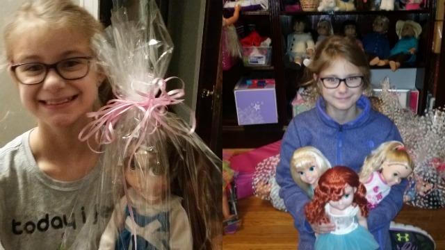 Georgia girl donates refurbished dolls to kids