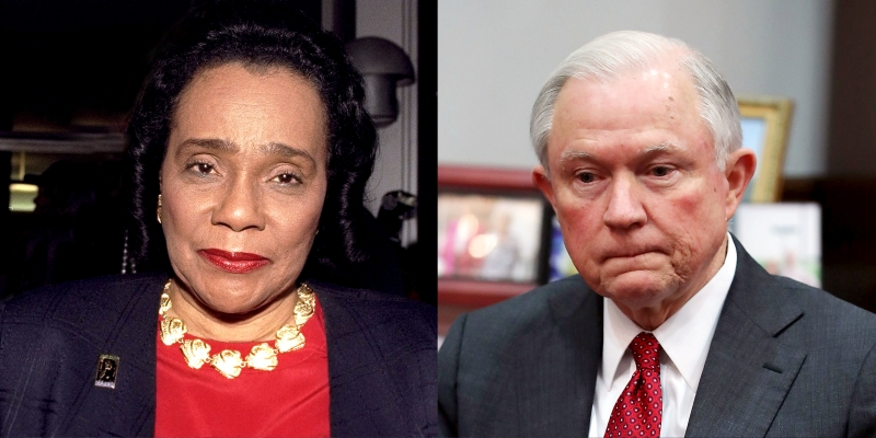 Letter By Coretta S. King Blasting Jeff Sessions Is Missing