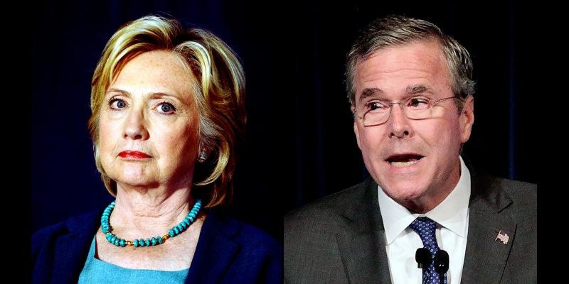 Clinton: Bush's 'Free Stuff' Comments Are 'Deeply Insulting'