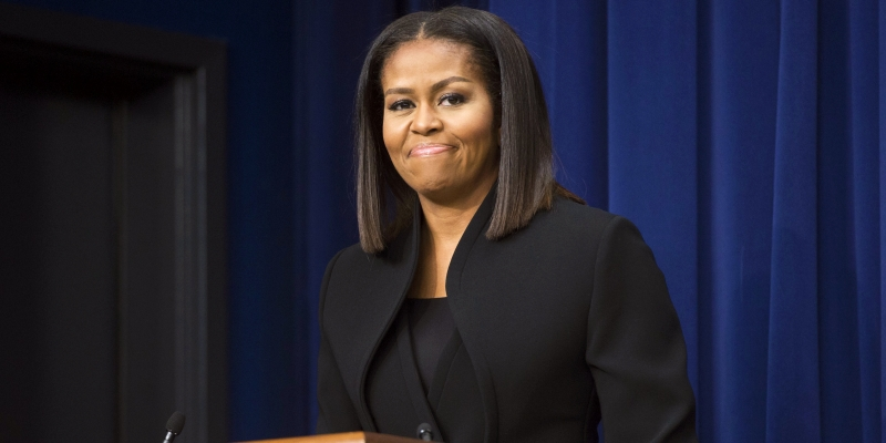 Michelle Obama Moved to Tears as She Gives Her Last Address as FLOTUS