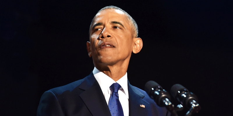 Watch: President Obama's Emotional Farewell Speech In Full