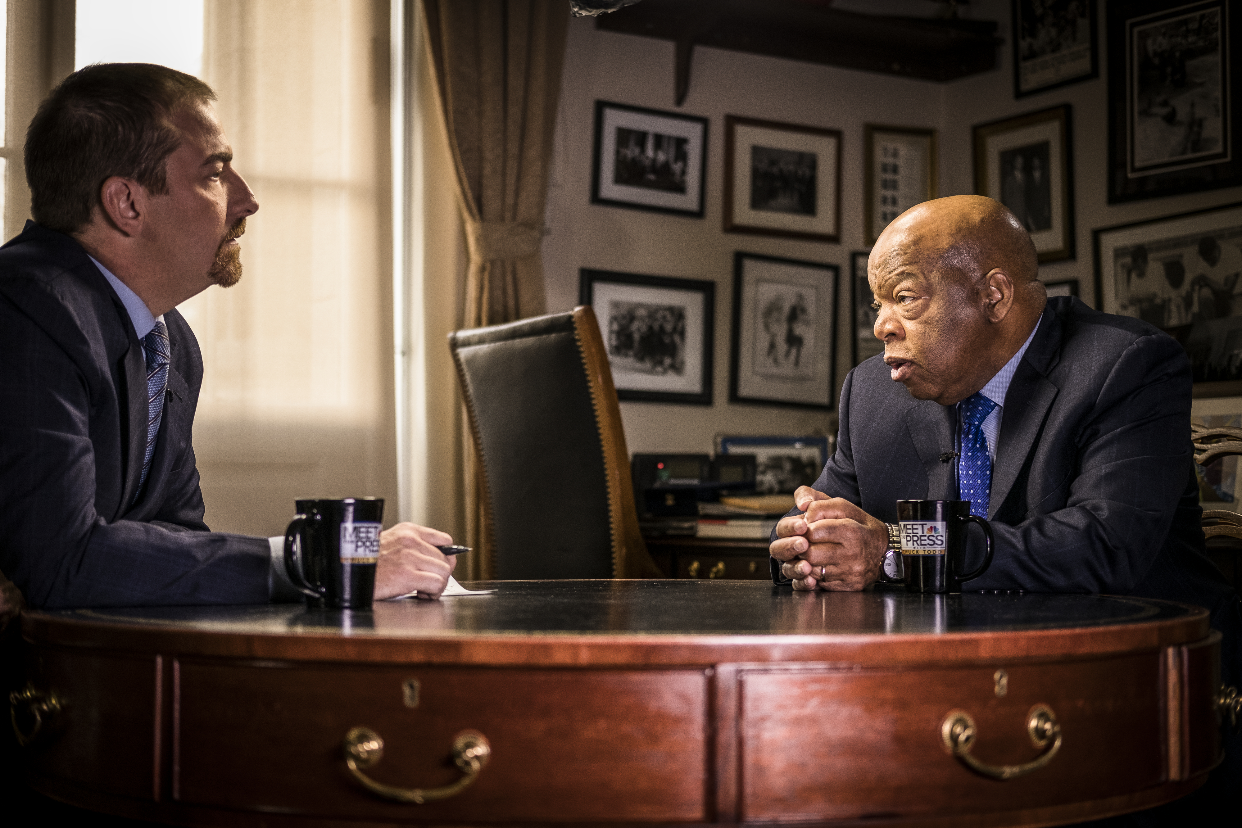 John Lewis on Donald Trump: 'Almost impossible for me to work with him'