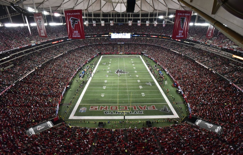 30-minute update: Stormy weather in area of Atlanta Falcons game