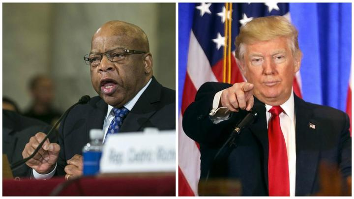 Led by John Lewis, at least 65 House Democrats boycott inauguration