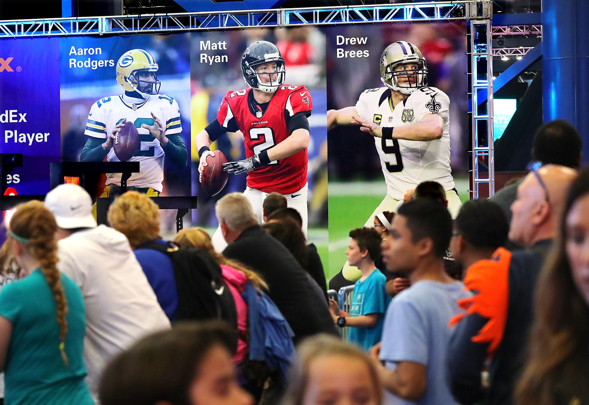 It's not the Falcons vs. Patriots. It's John Lewis' team vs. Donald Trump's