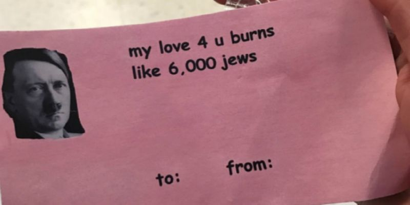 CMU Republicans Slammed For Hitler-Themed Valentine's Card