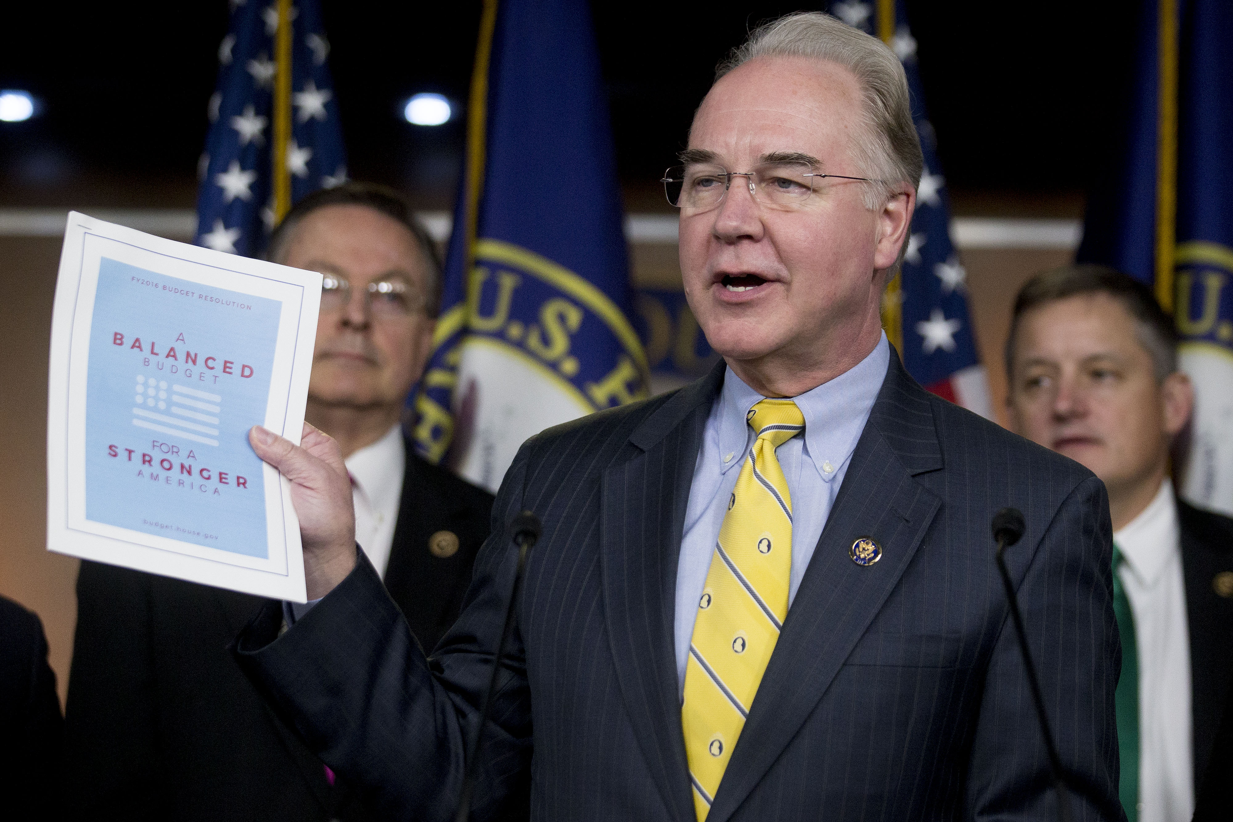 Senators delve into debate over Tom Price as leaders try to cut a deal