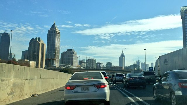 Atlanta ranked 8th most congested city in the world