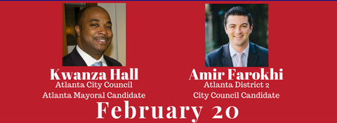 Newsmakers Live! Presents: Kwanza Hall, Atlanta Mayoral Candidate & Amir Farokhi, Atlanta District 2 City Council Candidate – February 20th, 2017