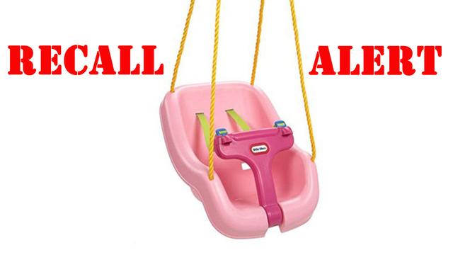 Little Tikes recalls toddler swings due to fall hazard